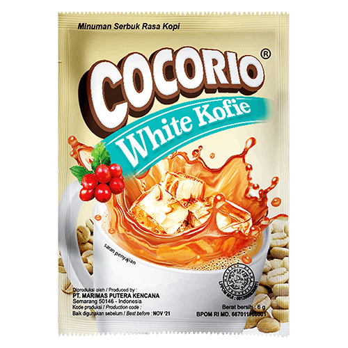 Cocorio White Kofie
